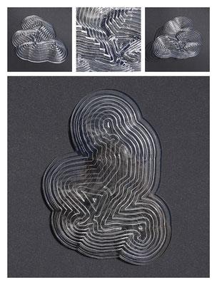 PL1TL10V5400 acrylic, 25x6x36 cm, 2017