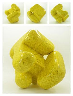 E2C60X333Y17N09 (03) resina epossidica, quarzo, 19x19x19 cm, 2017