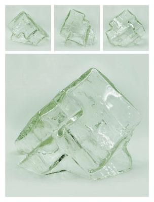 GL0C60X444Y17V29792 glass, 38x28x28 cm, 2017