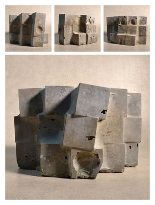 C2C60Y15L3 (5) cemento fuso, sabbia e argilla espansa, h 18cm, 2015