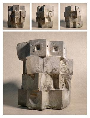 C2C60Y15L4 (3) cemento fuso, sabbia e argilla espansa, h 24cm, 2015