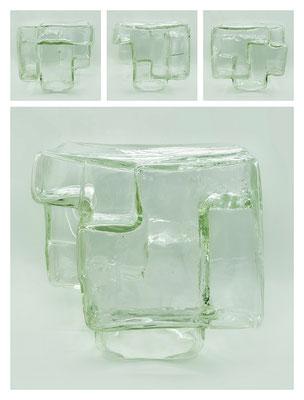 GL0C60X444Y17V21840 glass, 30x26x28 cm, 2017