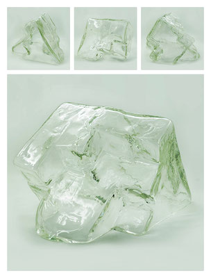 GL0C60X444Y17V17820 glass, 33x20x27 cm, 2017