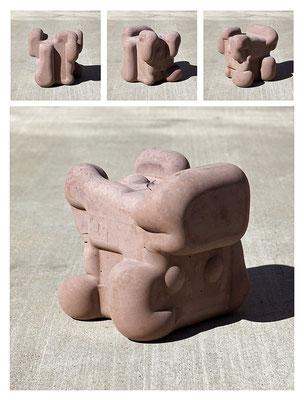 C9C50TXX444Y17NX (01) concrete, pigments, 20x20x20 cm