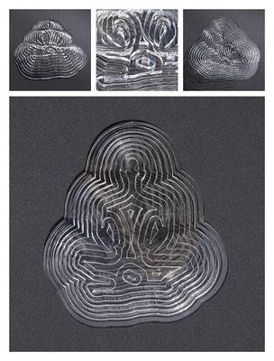 PL1TL11V6496 acrylic, 29x7x32 cm, 2017