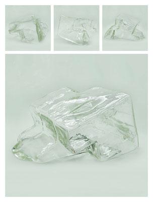 GL0C60X444Y17V12090 glass, 26x15x31 cm, 2017