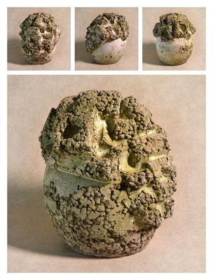 C2BXTXY15V13754 ciment fondu, sand, expanded clay 23x26x23cm, 2015