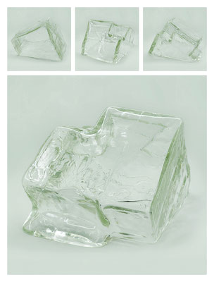 GL0C60X444Y17V9072 glass, 27x16x21 cm, 2017
