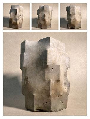 C2C60Y15L5 (2) cemento fuso, sabbia e argilla espansa, h 30cm, 2015