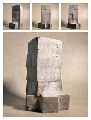 C2C60Y15L5 (1) cemento fuso, sabbia e argilla espansa, h 30cm, 2015