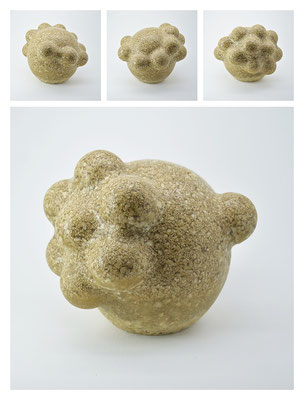 R2BXB40Y13V3375 polyester, silicon gravel, 15x15x15cm, 2013