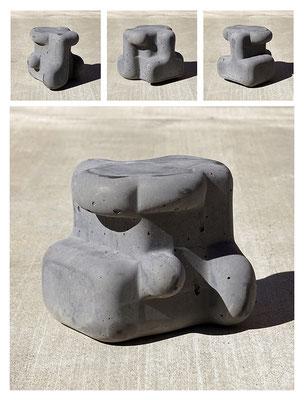 C9C50TXX444Y17NX (03) concrete, pigments, 20x20x20 cm