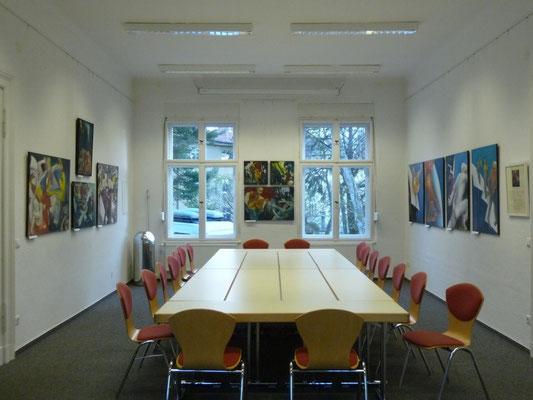 """Ausstellung """"Traum und Trauma"""", 2009, Potsdam, Gesamtansichten"""