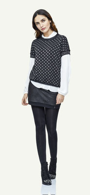 Sweater 139-32, Blouse 138-29, Microskirt 1011-101