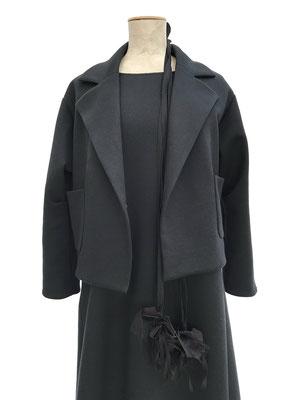 Jacket XXX,  Dress 650-910, Flowerbelt 910-997
