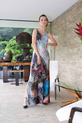 Dress 171-Dita  Print K8
