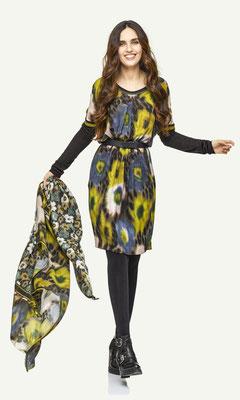 Dress 158-13, Scarf 195-13, Belt 184-99
