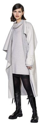 Longsweater 3072-41, Microskirt 1011-101, Coat 303-10