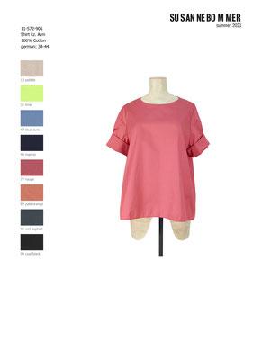 11-572-905, 77 Shirt short sleeves, rouge