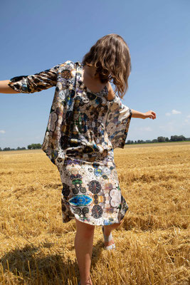 99-SS Naomi shirt over 66-ES ANNA dress, print 04
