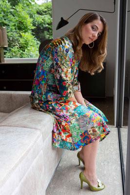 Dress 157-Maria  Print K4