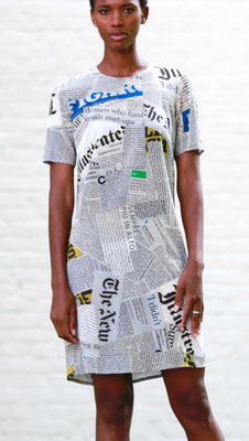 Dress 127- Karin, Print K2