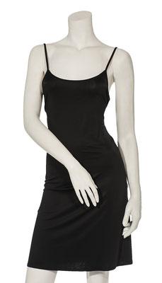 Slip dress black satin 1008- 101