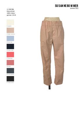 11-340-966, 15 Pants narrow, light cinemon