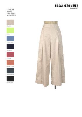 11-370-905, 13 Pants 7/8, pebble