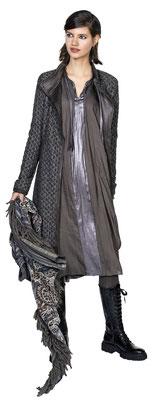 Dress 342-12,  Coat 352-12, Scarf 3016-33