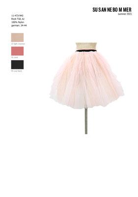 11-473-943, 15 Skirt Tüll short, light cinemon