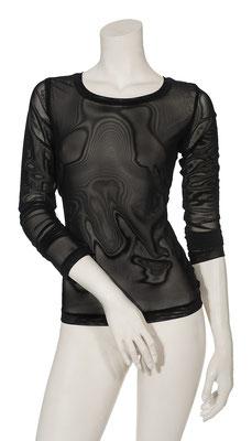 T-Shirt Net black  1006-101