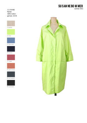 11-170-905, 31 Coat, lime