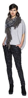 Sweater 3070-26, Jogger 311-9, Scarf 3016-33