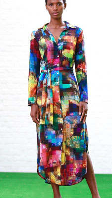 Skirt/Dress 83-Maxi  Print K11