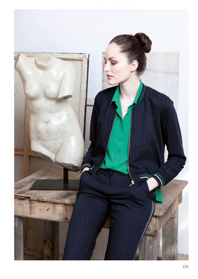JACKET: 2094 ARISTO; BLOUSE: 2003 BONBON; PANTS: 2096 ELDO