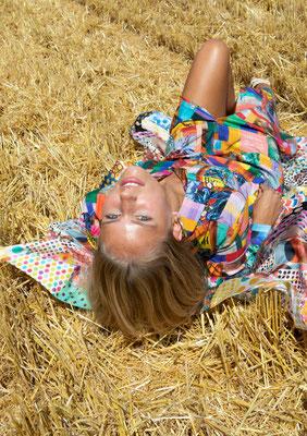 83-ES MAXI shirtdress print 07 + scarf print 06