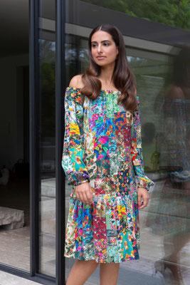 Dress 168-Lea  Print K4