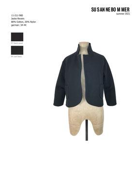 11-211-900, 99  Jacket,  coal black