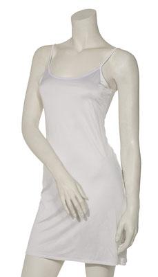 Slip dress white satin 1008-102