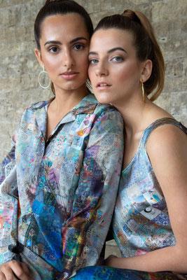 Dress 166-Toni, Dress 171- Dita  Print K8
