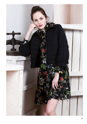 JACKET: 2041 LOULOU; DRESS: 2035 WILLOW