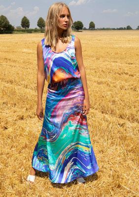 177-SS ANITA top + 211-SS LEX skirt, print 011