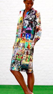 Dress 160-Carla,  Print D21