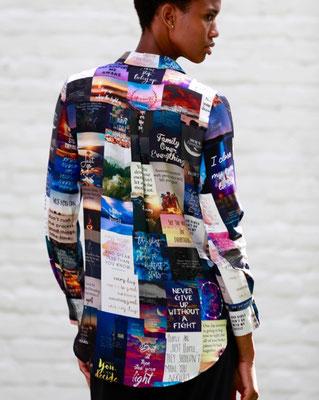 Blouse 99-Naomi   Print K1
