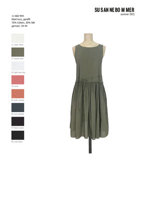 11-682-944, 27 Dress short, sweet olive