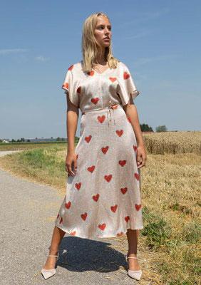 209-SS HELLA dress , print 014
