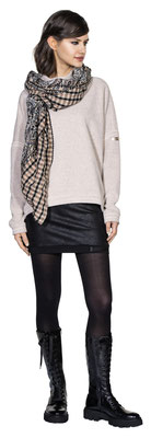 Sweater 306-16, Microskirt 1011-101, Scarf 3020-33