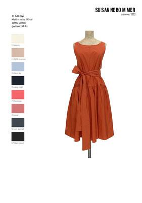 11-642-966, 76 Dress sleeveless, coral