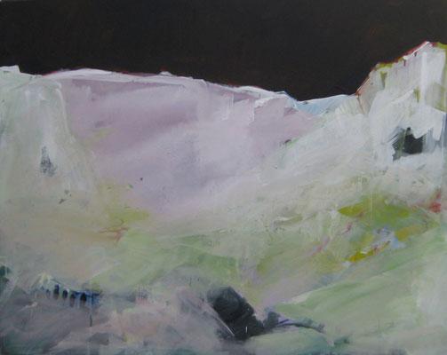 Frost, 2015, Acryl auf Leinwand, 80x100 cm